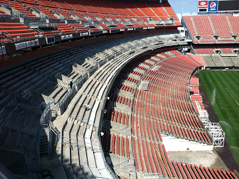 Cleveland Browns Stadium Project