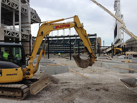 Progressive Field Right Field Renovation Project